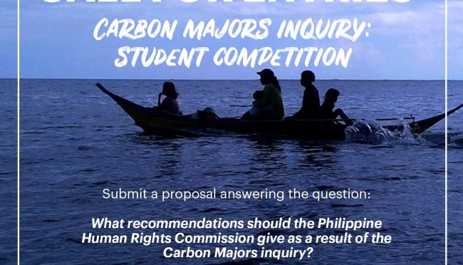 Carbon Majors inquiry – London hearings and student competition
