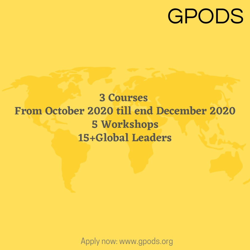 Fellowship- Global Policy, Diplomacy, and Sustainability (GPODS)